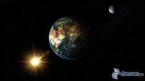 Zem, Mesiac, Slnko