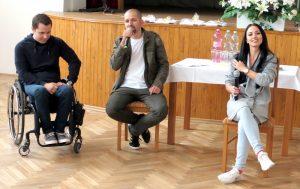 Dni zdravia a pohybu - moderovanie diskusie so športovcami