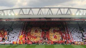 Na Anfield včera... (foto: eurozpravy.cz)