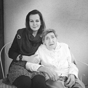 Helena Weinwurmová s Petrou Nagyovou (foto: archív Petry Nagyovej)