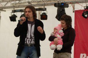 Púť zaľúbených 2009 - prednáška pre 400 mladých ľudí.