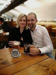 S manželkou Milkou